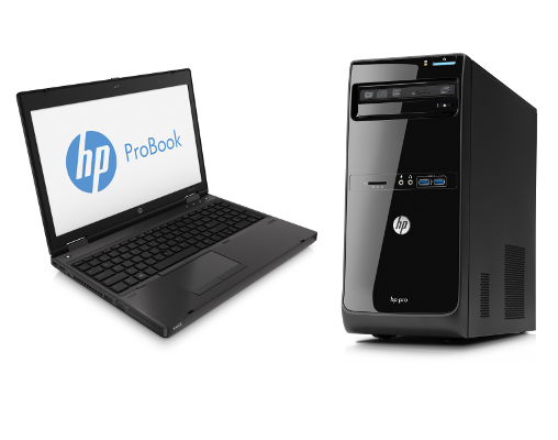 HP Probook a HP Pro 3500 Microtower